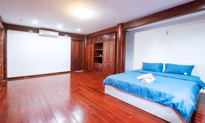 Wooden Style Villa Garden For Rent in Nguyen Van Huong Thao Dien District 2 HCMC