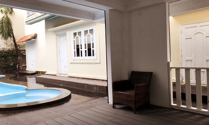 Five Bedroom  Villas For Rent in Nguyen Duy Hieu Street Thao Dien District 2 Ho Chi Minh City
