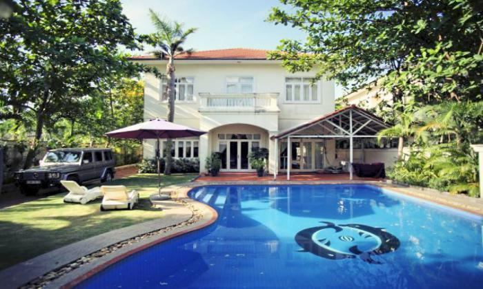 Villa For Rent In An Phu Compound District 2, Ho Chi Minh City