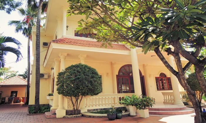 Classic Villa For Rent In The Center Of Thao Dien, District 2, Ho Chi Minh City. Unfurnished