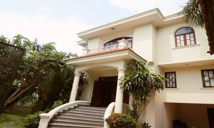 Unfurnished Villa For Rent , District 2, HCM City