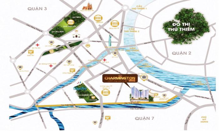 Charmington-Iris-Apartment-For-Sales-In-Ton-That-Thuyet-District-4-Ho-Chi-Minh-City-1