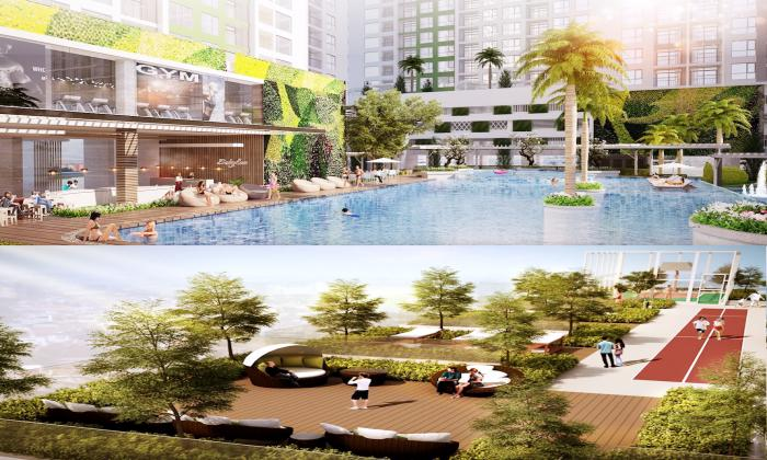 Three Bedroom Apartment Charmington Iris For Sales in District 4 HCMC